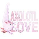 Axolotl Love by Kristina S