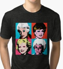 Golden Warhol Girls Tri-blend T-Shirt