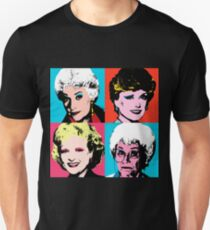 Golden Warhol Girls T-Shirt