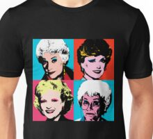 Golden Warhol Girls Unisex T-Shirt