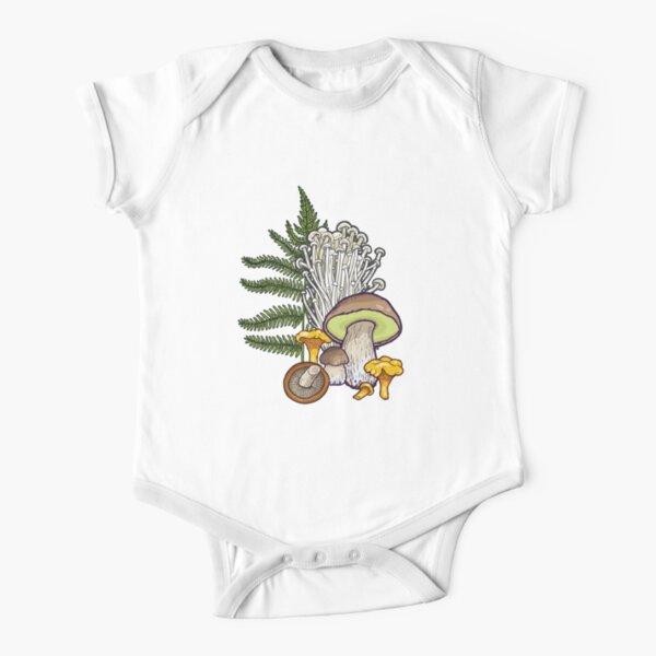 Pilzwald Baby Body Kurzarm