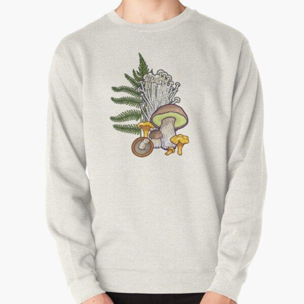 mushroom forest Pullover Sweatshirt