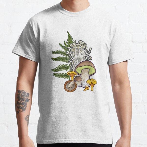 forêt de champignons T-shirt classique
