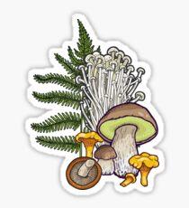 mushroom forest Sticker