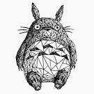 Triangulated Totoro by McBethAllen