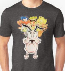 Courage the Cowardly Dog Unisex T-Shirt