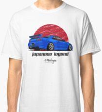 Camiseta clásica Skyline GTR R34 (azul)