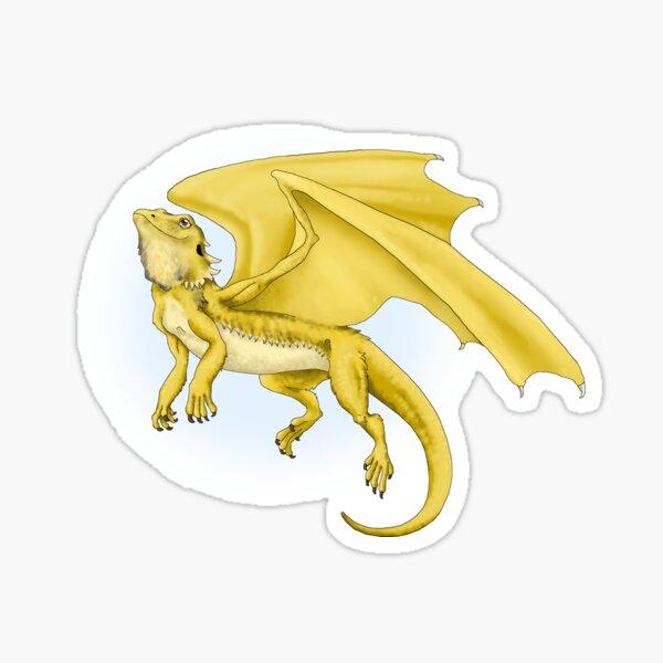 BEARDED DRAGON DRAGON Sticker