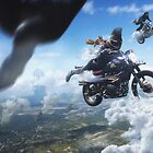 All Shall Fall - Motorcycle race by rowye