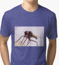 Insect Extreme Macro Fly With Pollen Tri-blend T-Shirt