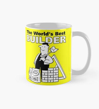 The world's Best Builder! Mug