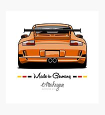 GT3 (orange) Photographic Print