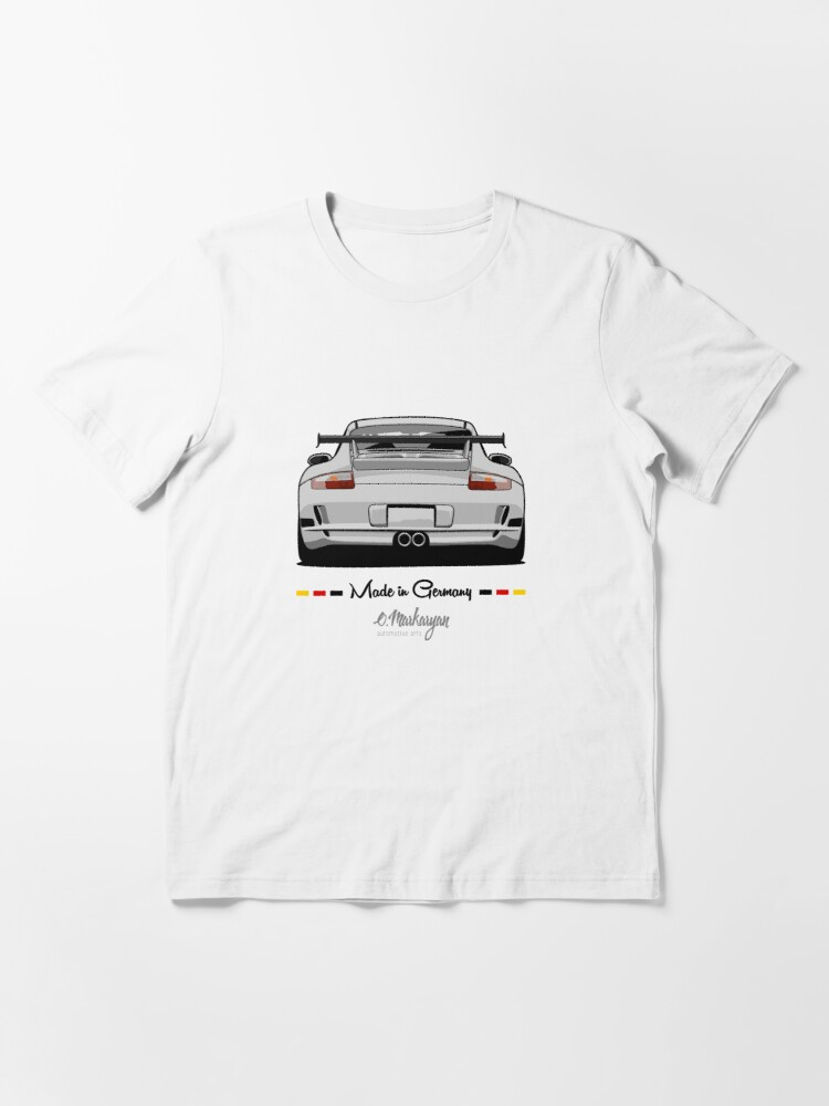 Alternate view of GT3 (white) Essential T-Shirt