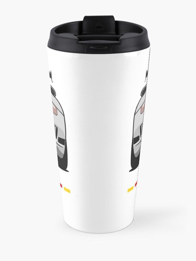 Alternate view of GT3 (white) Travel Mug