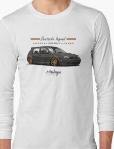 VW Golf MKIV (black) Long Sleeve T-Shirt