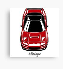 NSX (red) Canvas Print