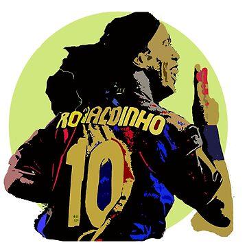 Ronaldinho Sticker by Boscy