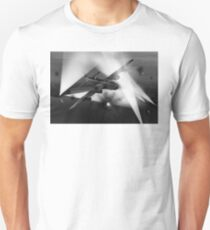 Short Stirling battling through B&W version Unisex T-Shirt