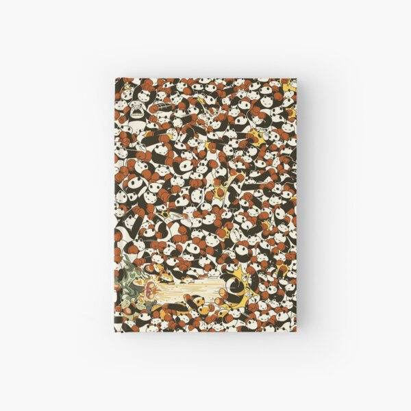 Pandamonium Hardcover Journal