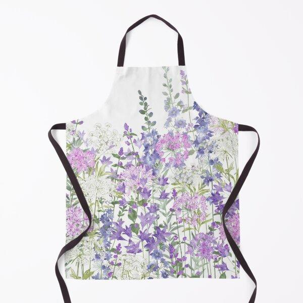 Flower Garden - Allium Eros, Larkspur, Ammi, Cluster Lilies, Catmint Apron