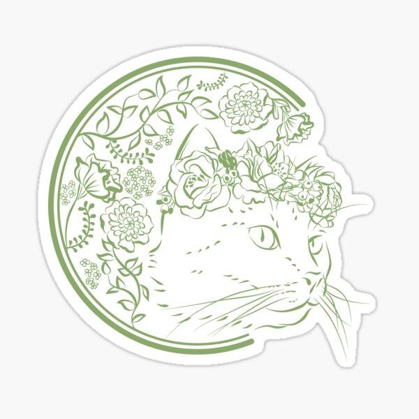 Hanako Season of Spring Sticker