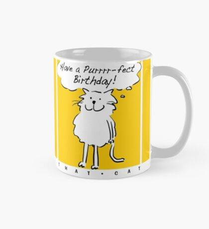 Have a purrr-fect birthday! Mug