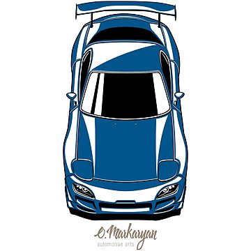 RX7 vertical (blue) by OlegMarkaryan
