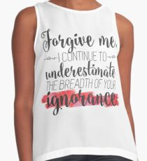 Miss Peregrine's Quote Contrast Tank