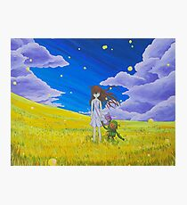 Clannad Wishes  Photographic Print