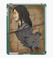 Sirius Black Playing Card iPad Case/Skin