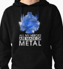 TF - All My Heroes Are Metal Pullover Hoodie