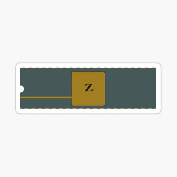Zilog Z80 Retro Processor Sticker