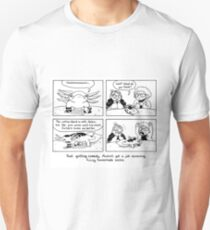 Axolotl Pangram Adventures, part the second Unisex T-Shirt