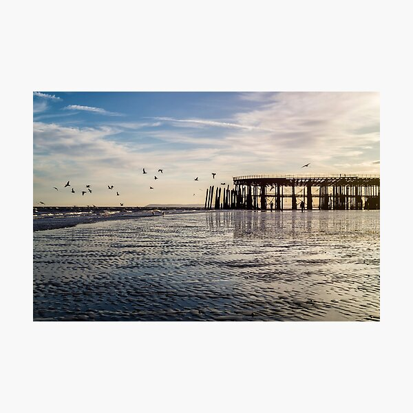 Hastings Pier Photographic Print