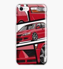 Lancer Evolution VIII (red) iPhone Case/Skin