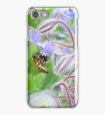 A bee beeing there. Oh god that was a bad joke. iPhone Case/Skin