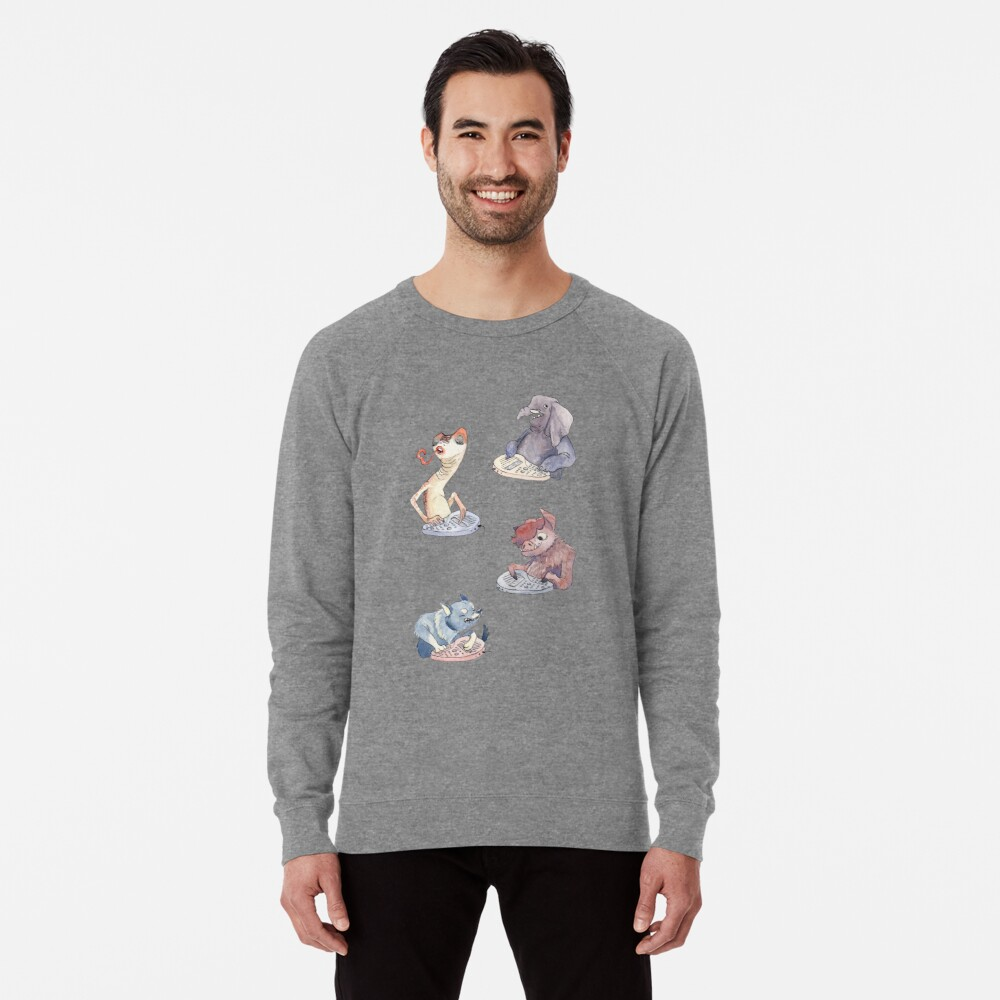 Omnichord Animals Lightweight Sweatshirt