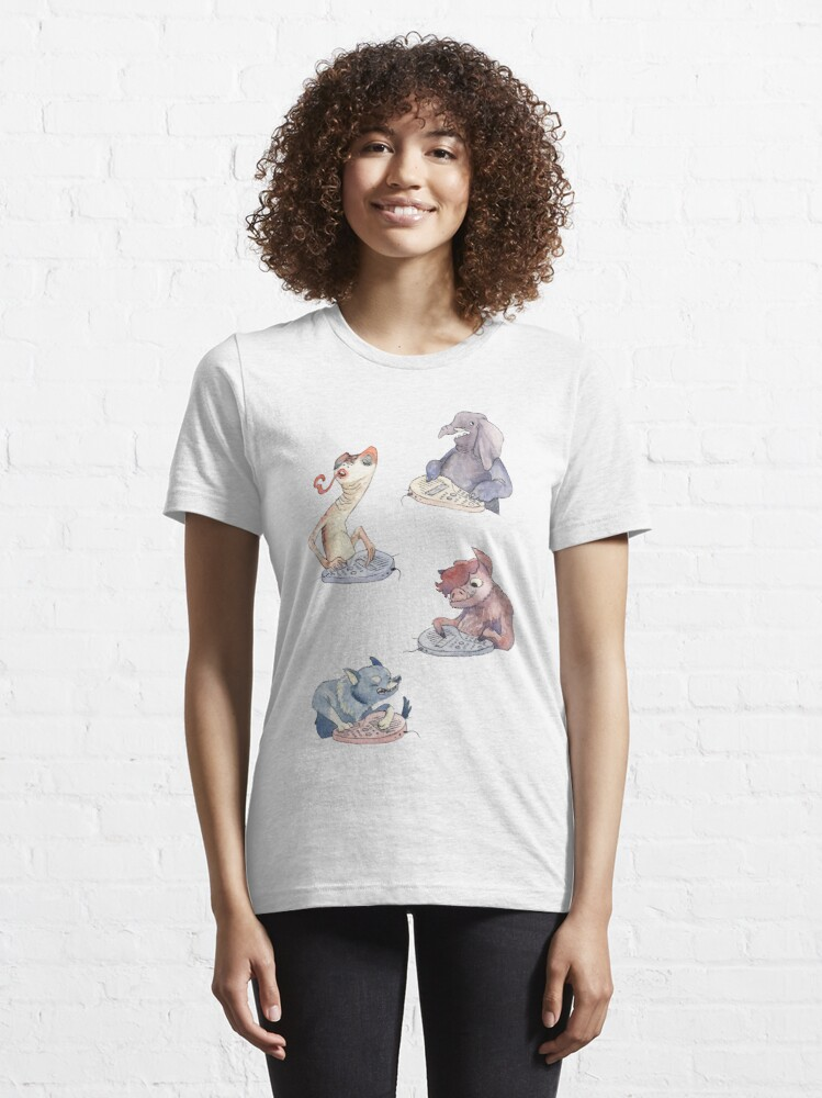 Alternate view of Omnichord Animals Essential T-Shirt