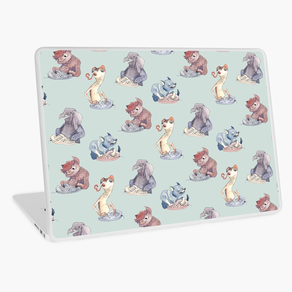 Omnichord Animals Laptop Skin