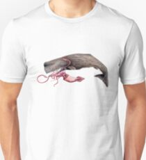 Sperm whale and squid battle T-Shirt