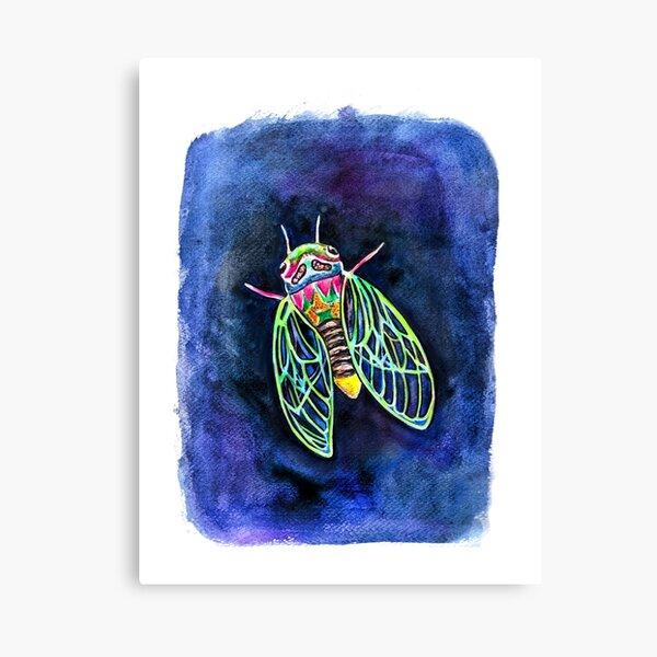 Cicada Love Canvas Print