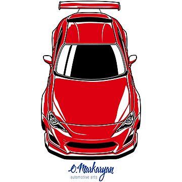 FR-S (red) by OlegMarkaryan