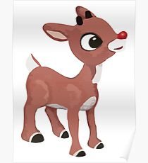 Classic Rudolph Poster