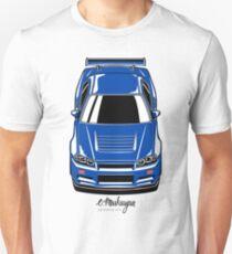 Skyline R34 GT-R Unisex T-Shirt