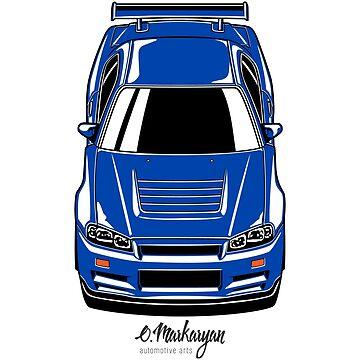 Skyline R34 GT-R by OlegMarkaryan