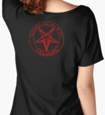 Black Phillip - Live Deliciously Women's Relaxed Fit T-Shirt