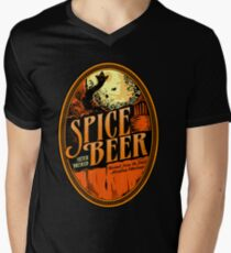 Spice Beer Label Men's V-Neck T-Shirt