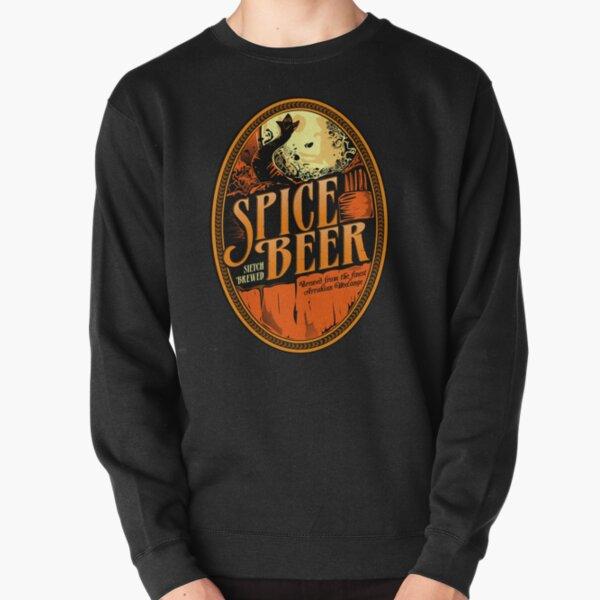Spice Beer Label Pullover Sweatshirt
