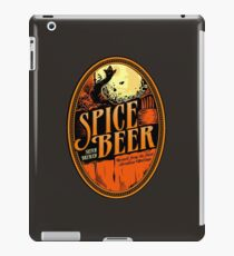 Spice Beer Label iPad Case/Skin