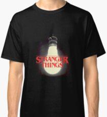 Stranger Things - Lightbulb Classic T-Shirt